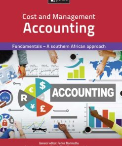Cost and Management Accounting Fundamentals (Print)