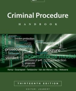 Criminal Procedure Legislative Guide 3e