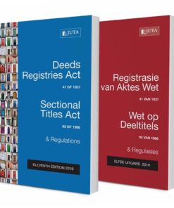 Deeds Registries Act 47 of 1937; Sectional Titles Act 95 of 1986 & Regulations / Registrasie van Aktes Wet 47 van 1937; Wet op Deeltitles 95 van 1986 & Regulasies 12e (2020)