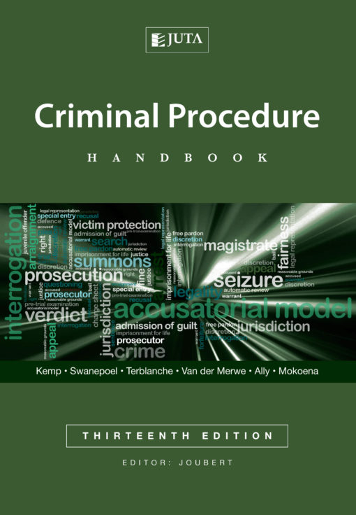 Criminal Procedure Handbook 13e (Print)