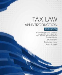 Tax Law an Introduction 2e (Print)