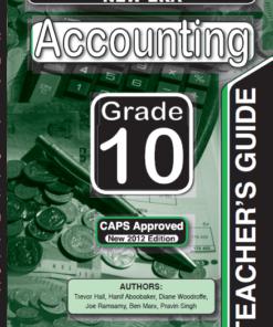New Era Accounting Grade 10 Teachers Guide