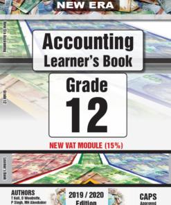 New Era Accounting Grade 12 Learner Book