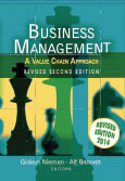 Business management - a value chain approach revised 2/e
