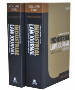 Cumulative Index to the Industrial Law Journal 1980 - 2010