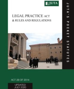 Legal Practice Act 28 of 2014 & Rules and Regulations 4e