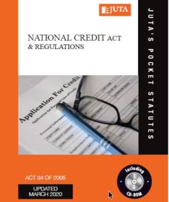National Credit Act & Regulations 12e