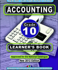 New Generation Accounting Grade 10 Learner Book