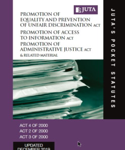 Promotion of Equality and Prevention of Unfair Discrimination Act 4 of 2000