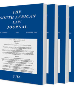 South African Law Journal (Print)