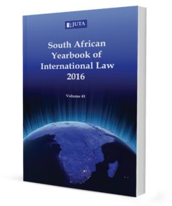South African Yearbook of International Law (Print)