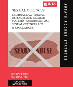 Criminal Law (Sexual Offences and Related Matters) Amendment Act 32 of 2007;  Sexual Offences Act 23 of 1957 & Regulations
