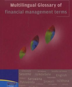 Multilingual Glossary Financial Management Terms (Paperback)