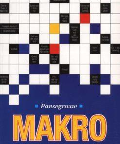 Pansegrouw Makro Blokraaiselwoordeboek (Paperback)