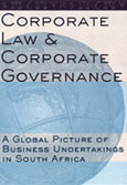 Corporate law & corporate governance - a global picture of business undertakings in South Africa