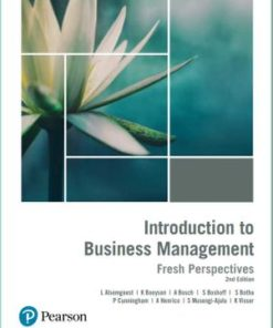 Introduction to Business Management Fresh Perspectives (2nd edition)