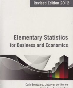 Elementary Statistics for Business & Economics (2nd edition)