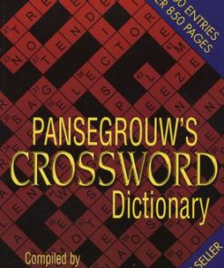 Pansegrouw Crossword Dictionary (Paperback)