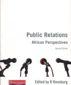 Public Relations: African Perspectives (2nd edition)