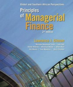 Principles of Man Financial (2nd edition) with access code