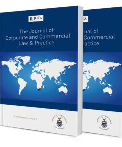 Journal of Corporate and Commercial Law & Practice