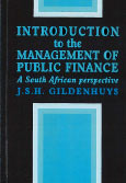 Introduction to the management of public finance