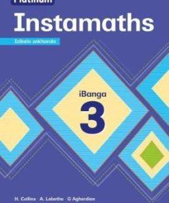 Platinum Instamaths Izibalo zekhanda Ibanga 3 (CAPS Aligned)