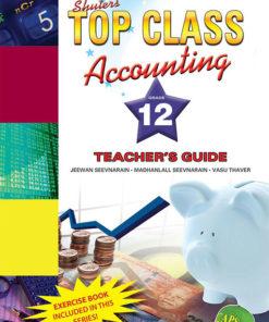 Shuters Top Class Accounting Grade 12 Teachers Guide