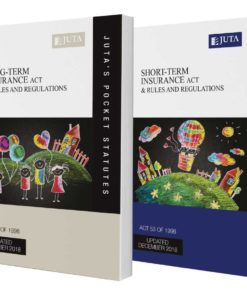 Long-term Insurance Act 52 of 1998 & Rules and Regulations AND Short-term Insurance Act 53 of 1998 & Rules and Regulations (2-volume set)