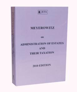 Meyerowitz on Administration of Estates and their Taxation (Print)