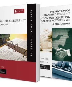 Criminal Procedure Act 51 of 1977 & Regulations AND Prevention of Organised Crime Act 121 of 1998 & Regulations; Prevention and Combating of Corrupt Activities Act 12 of 2004 & Regulations