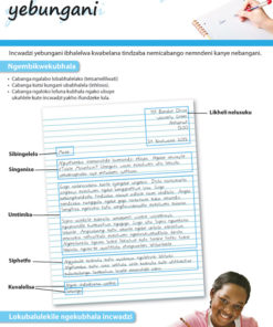 CHART: HOW TO WRITE A PERSONAL LETTER (SISWATI) A2 (FLAT)