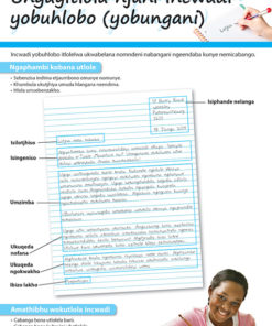 CHART: HOW TO WRITE A PERSONAL LETTER (NDEBELE) A2