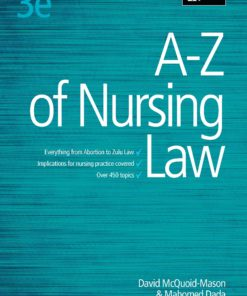 A-Z of Nursing Law 3e