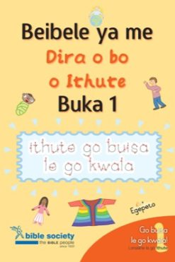 Setswana my first bible do and learn book