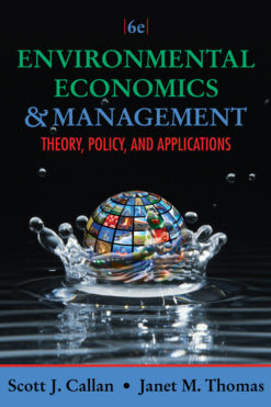 Environmental Economics and Management: Theory