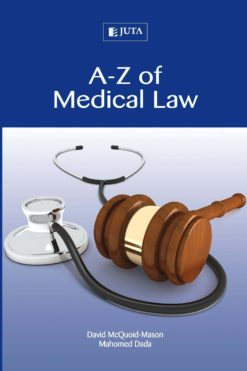 A-Z of Medical Law 1e